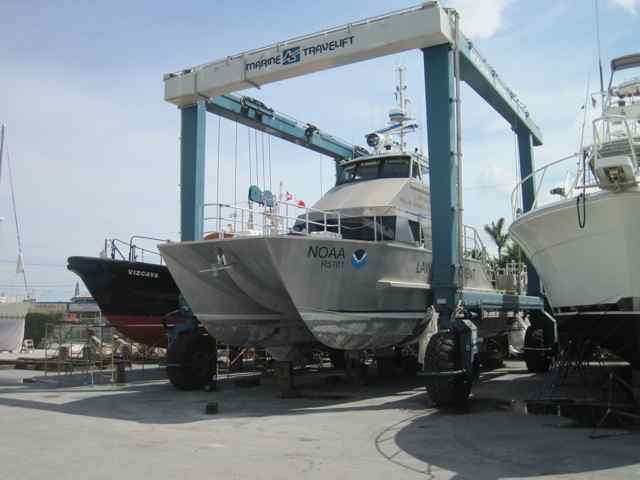 Case Study –Applying Antifoulant Undercoating to an Aluminum Hull Vessels