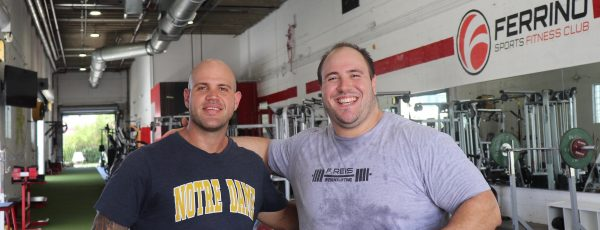 Fernando Reis is training at Ferrino Sports in Miami for the Pan Am Games